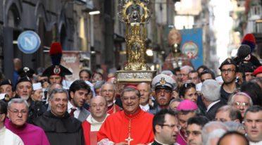 Prozession von San Gennaro in Neapel
