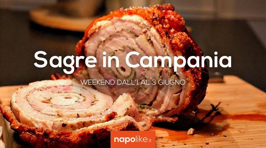 Sagre in Campania nel weekend dall'1 al 3 giugno 2018