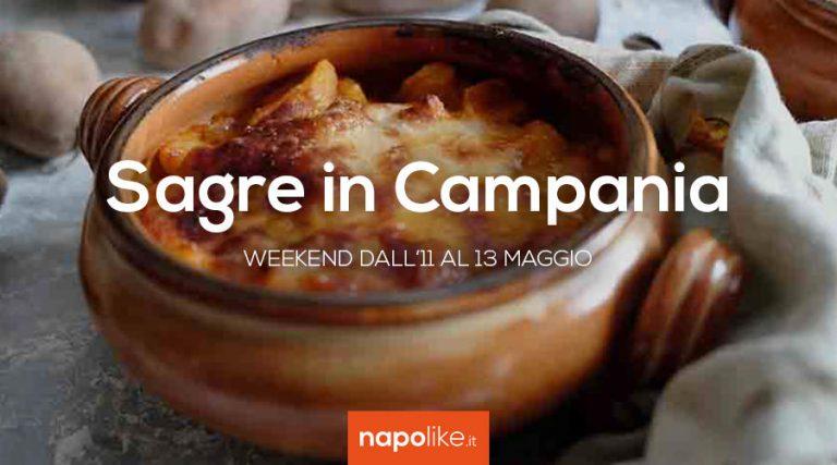 Sagre in Campania nel weekend dall'11 al 13 maggio 2018