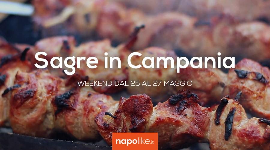 Sagre in Campania nel weekend dal 25 al 27 maggio 2018