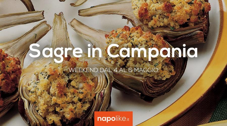 Sagre in Campania nel weekend dal 4 al 6 maggio 2018