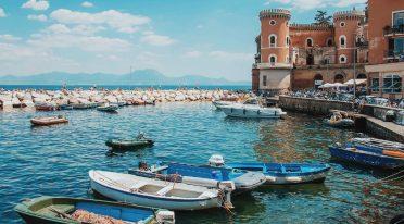Meer in Neapel