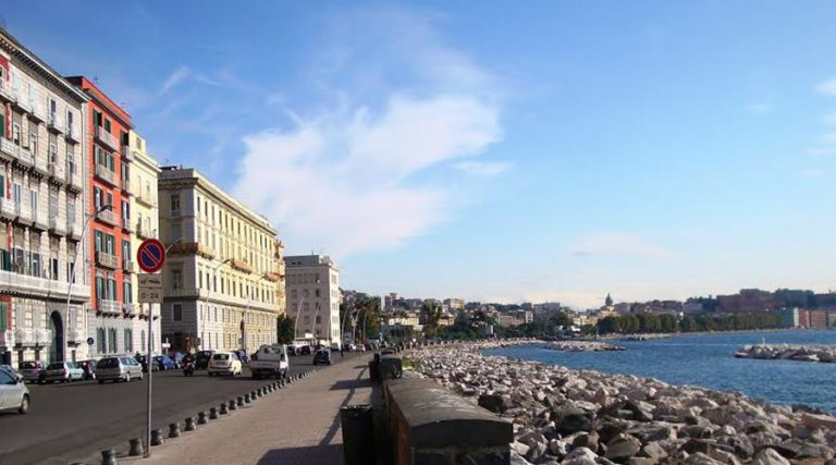 via Caracciolo in Naples