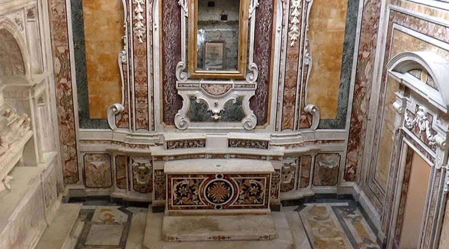 Cappella Santa Maria dei Pignatelli a Napoli
