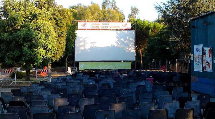 Cinema around Vesuvius in San Giorgio a Cremano