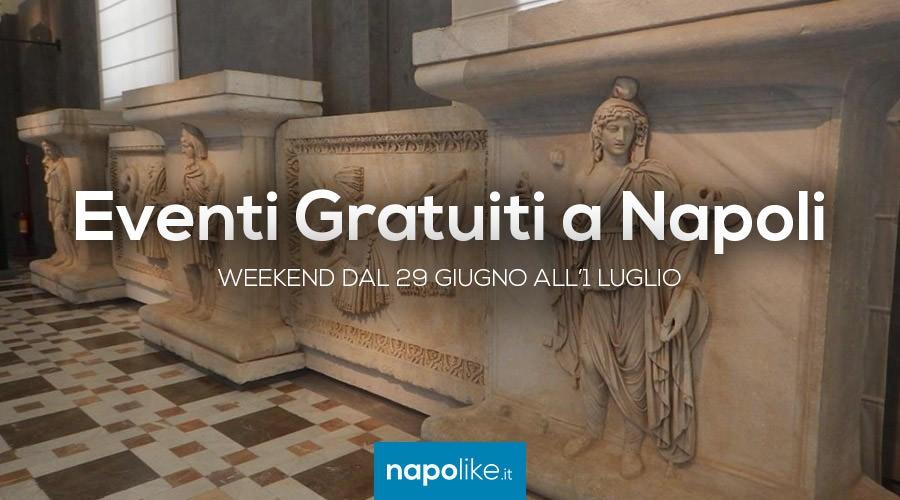 Eventi gratuiti a Napoli nel weekend dal 29 giugno all'1 luglio 2018