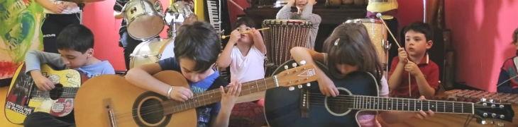 Bambini e strumenti musicali