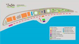 Mappa del Bufala Fest 2018 a Napoli