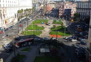 Piazza Carlo III a Napoli