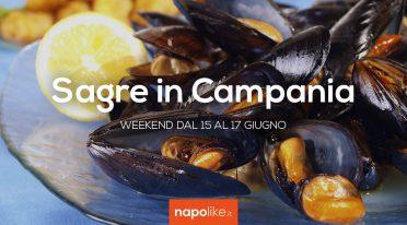 Sagre in Campania nel weekend dal 15 al 17 giugno 2018