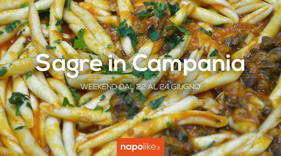 Sagre in Campania nel weekend dal 22 al 24 giugno 2018