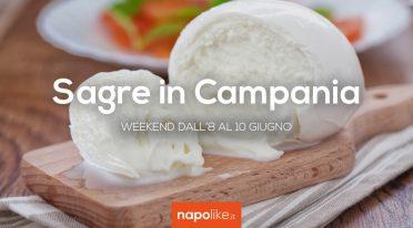 Sagre in Campania nel weekend dall'8 al 10 giugno 2018