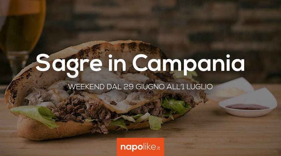 Sagre in Campania nel weekend dal 29 giugno all'1 luglio 2018