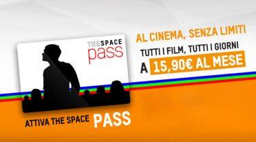 The Space Pass, card mensile per il cinema
