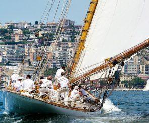 Regata Vele d'epoca nel Golfo di Napoli