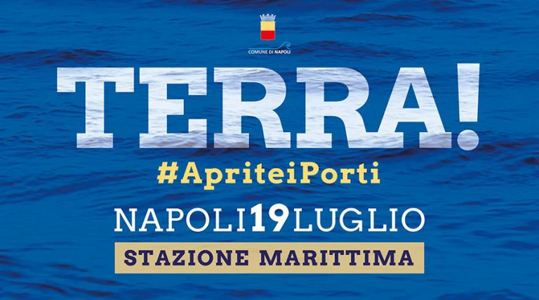 """A Napoli la giornata """"Aprite i Porti"""""""