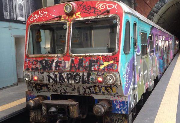 クマナ、ナポリへの列車