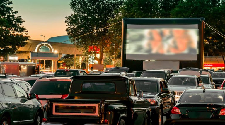 Drive In, cinema from the car