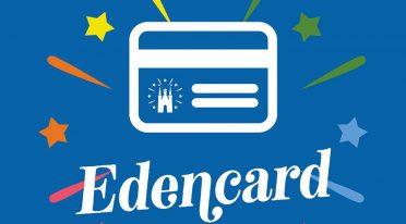 Card di ingresso per l'Edenlandia