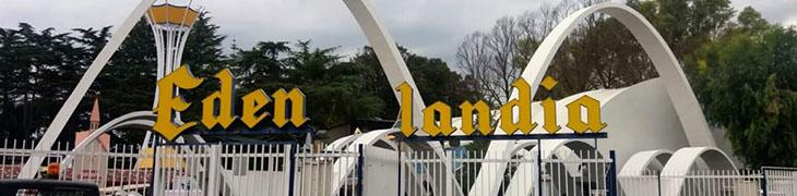 Edenlandia in Neapel, eröffnete den Spielplatz von Fuorigrotta