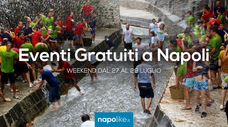 Eventi gratuiti a Napoli nel weekend dal 27 al 29 luglio 2018