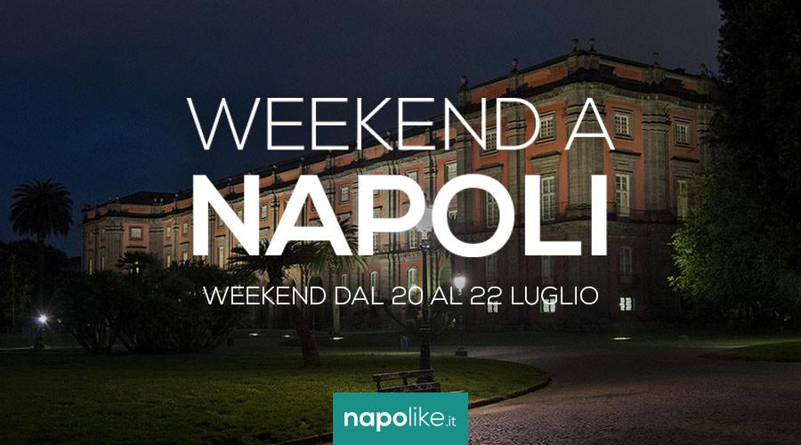 Eventi a Napoli nel weekend dal 20 al 22 luglio 2018