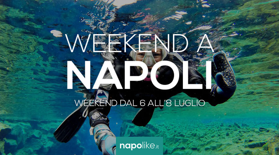 Events in Naples during the weekend from 6 to 8 July 2018