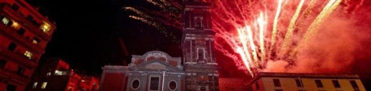 Carmine Festival in Neapel