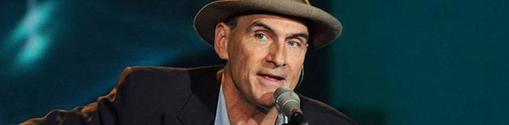 James Taylor in concert in Pompeii: at the Teatro Grande the legends of American folk