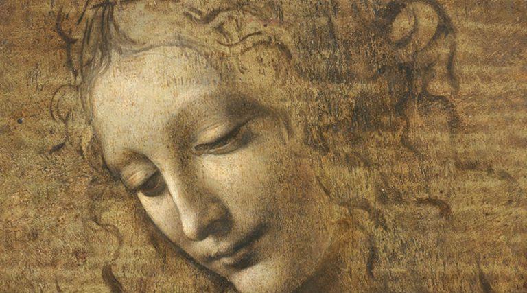 Le Scapiliata de Léonard de Vinci