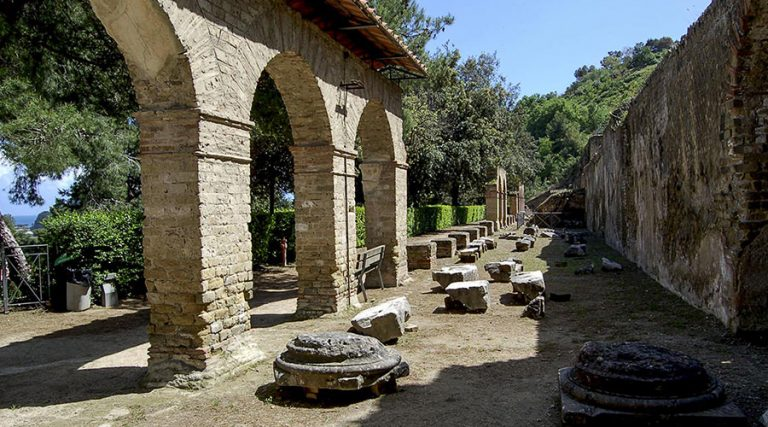Parque Arqueológico de las Termas de Baia