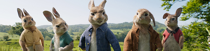 Cinema intorno al Vesuvio: Peter Rabbit
