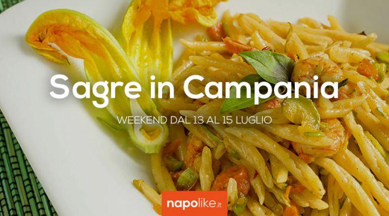 Sagre in Campania nel weekend dal 13 al 15 luglio 2018