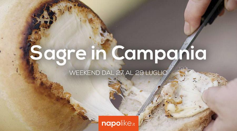 Sagre in Campania nel weekend dal 27 al 29 luglio 2018