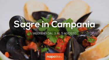 Sagre in Campania nel weekend dal 3 al 5 agosto 2018