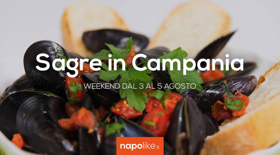 8月の3から5への週末のCampaniaのフェスティバル2018