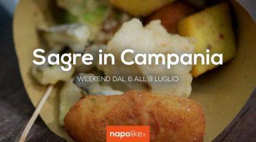 Sagre in Campania nel weekend dal 6 all'8 luglio 2018
