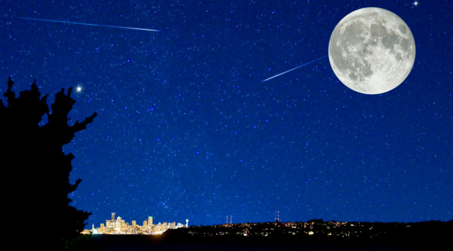 cielo con stelle