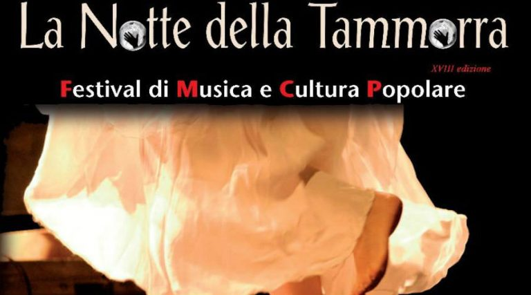 Night of Tammorra in Naples
