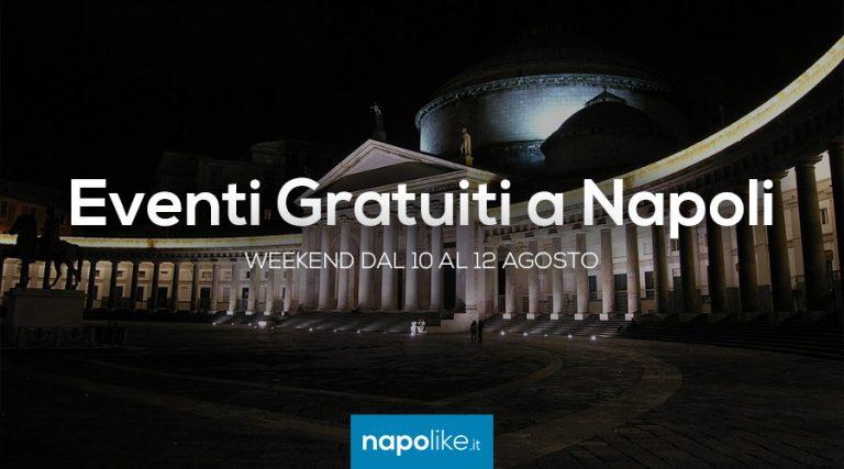 無料イベントナポリ週末10 12 8月