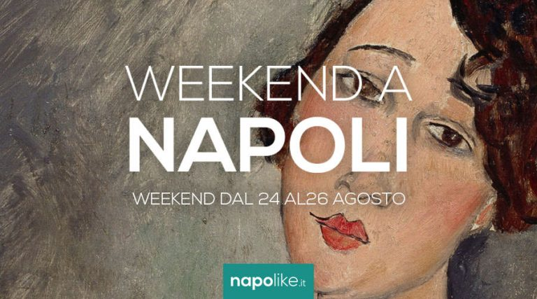 Events in Naples during the weekend from 24 to 26 in August 2018