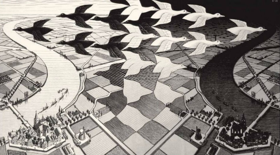 Exposition Escher au PAN de Naples