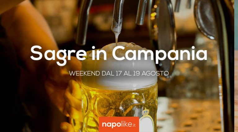 Festivals in Campania in the weekend from 17 to 19 in August 2018