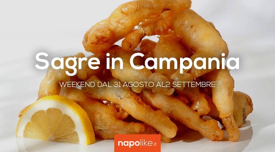 Sagre in Campania nel weekend dal 31 agosto al 2 settembre 2018
