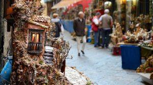 Nativity scene in San Gregorio Armeno in Naples