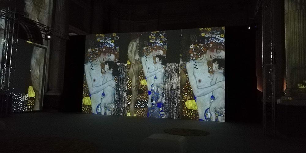 Klimt Experience a Napoli, quadro