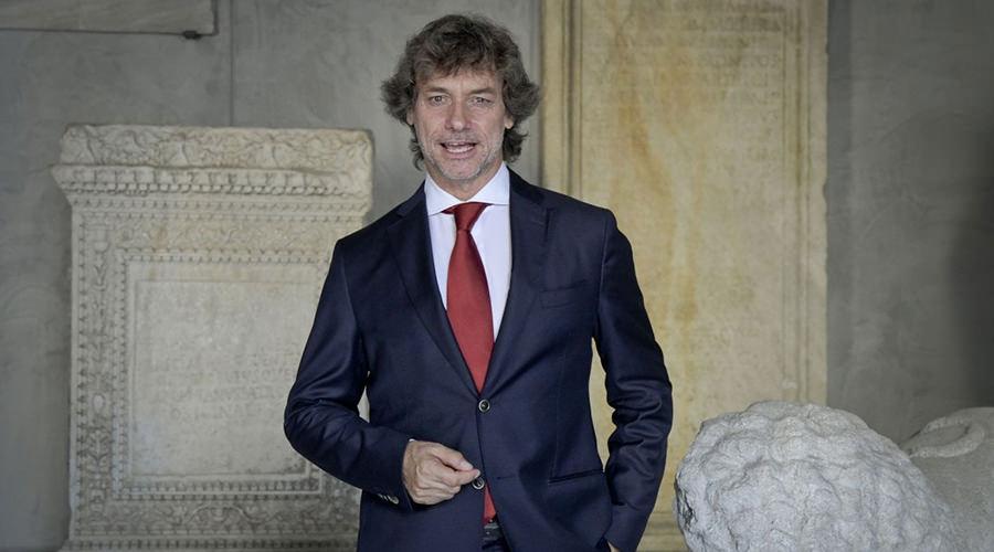 Alberto Angela al Museo Archeologico Nazionale di Napoli