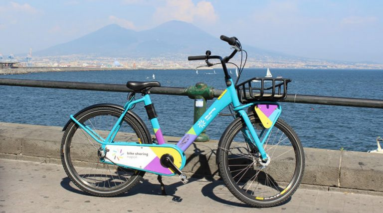 Bike of the Bike Sharing of Naples