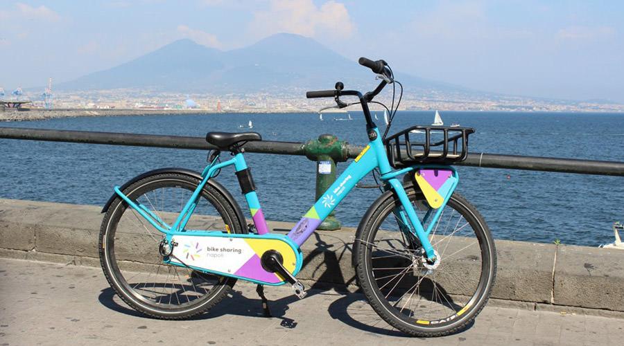 Bicicletta del Bike Sharing di Napoli