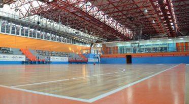 Campo di basket nel Centro Ester di Barra